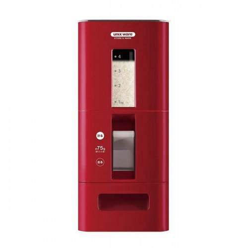 ASVEL计量式米箱 红色 6KG