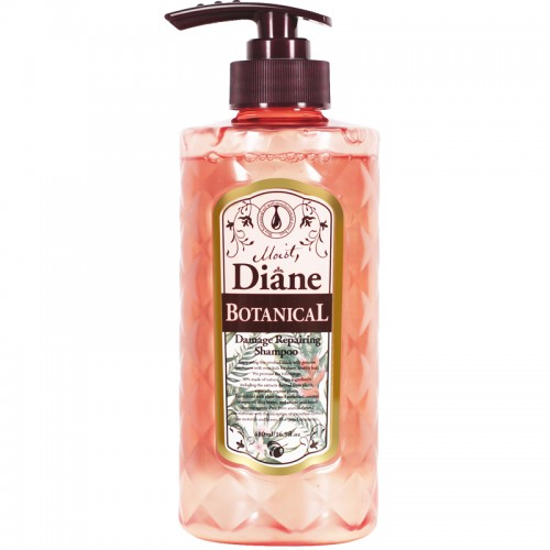 Moist Diane植萃无硅油洗发水 480ml 奢华损伤修护型