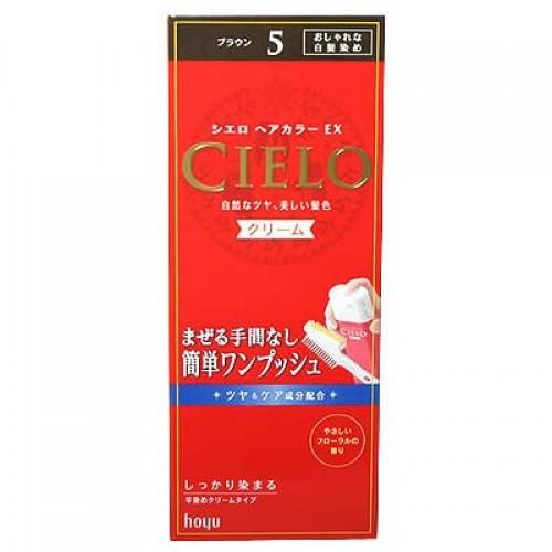 Hoyu美源 染发剂宣若CIELO #5 棕色
